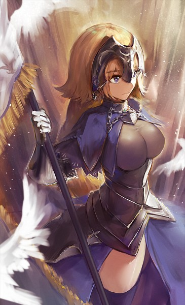 Tags: Anime, Pixiv Id 3664310, Fate/Grand Order, Joan of Arc (Fate/Apocrypha), Luminosité Eternelle, Fanart From Pixiv, Pixiv, Fanart