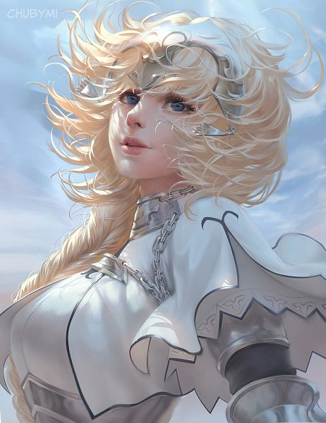 Tags: Anime, Chubymi, Fate/Grand Order, Joan of Arc (Fate/Apocrypha), Fanart From DeviantART, deviantART, Fanart