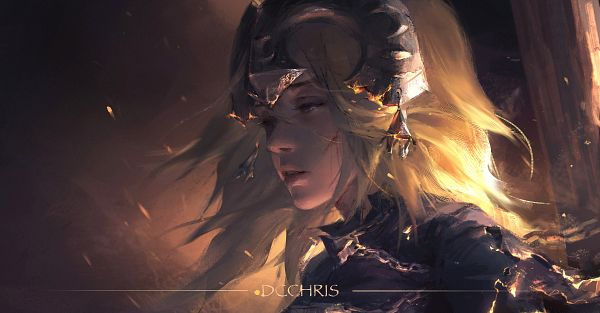 Tags: Anime, Dcchris, Fate/Grand Order, Joan of Arc (Fate/Apocrypha), Fanart From Pixiv, Pixiv, Facebook Cover, Wallpaper, Fanart