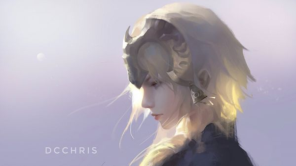 Tags: Anime, Dcchris, Fate/Grand Order, Joan of Arc (Fate/Apocrypha), Pixiv, Wallpaper, Fanart, Fanart From Pixiv