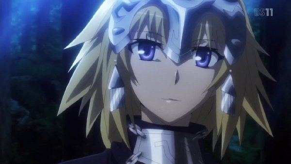 Tags: Anime, TYPE-MOON, A-1 Pictures, Fate/Apocrypha, Joan of Arc (Fate/Apocrypha), Wallpaper, Screenshot