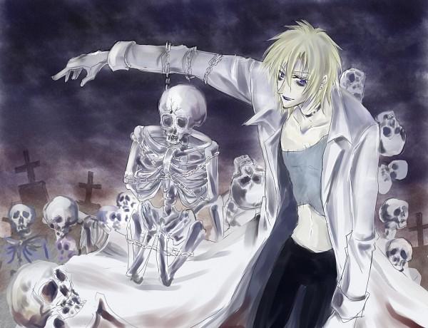 Tags: Anime, Shaman King, Johann Faust VIII
