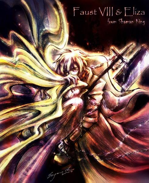 Tags: Anime, Shaman King, Johann Faust VIII, Eliza Faust