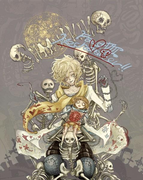 Tags: Anime, Hideandseek, Shaman King, Johann Faust VIII, Oyamada Manta, Grave, Operation Knives, Black Lips, Hole, Graveyard