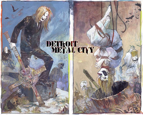 Tags: Anime, Pixiv Id 843933, Detroit Metal City, Johannes Krauser Ii, Pixiv, Fanart
