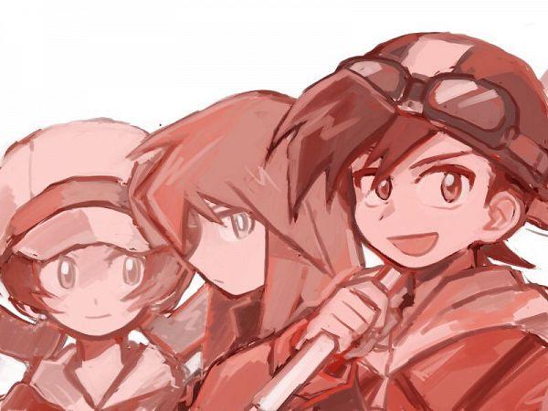 Tags: Anime, Pixiv Id 6480391, Pokémon SPECIAL, Pokémon, Gold (Pokémon SPECIAL), Crystal (Pokémon SPECIAL), Silver (Pokémon SPECIAL), Fanart, Fanart From Pixiv, Pixiv, Johtrio