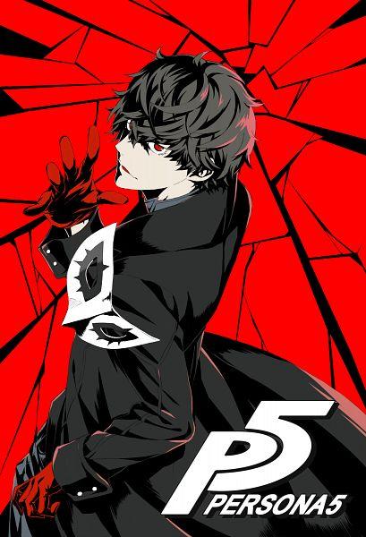 Tags: Anime, Pixiv Id 3023104, Shin Megami Tensei: PERSONA 5, Amamiya Ren (Persona 5), Joker (Persona 5), Mobile Wallpaper