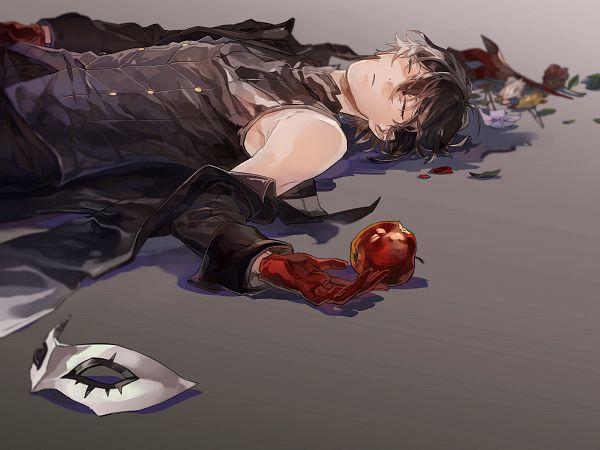 Tags: Anime, Pixiv Id 2156558, Shin Megami Tensei: PERSONA 5, Joker (Persona 5), Amamiya Ren (Persona 5), Fanart From Pixiv, Pixiv, Fanart