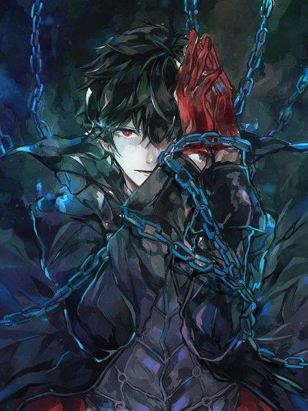 Tags: Anime, Pixiv Id 10306151, Shin Megami Tensei: PERSONA 5, Joker (Persona 5), Amamiya Ren (Persona 5), Fanart From Pixiv, Pixiv, Fanart