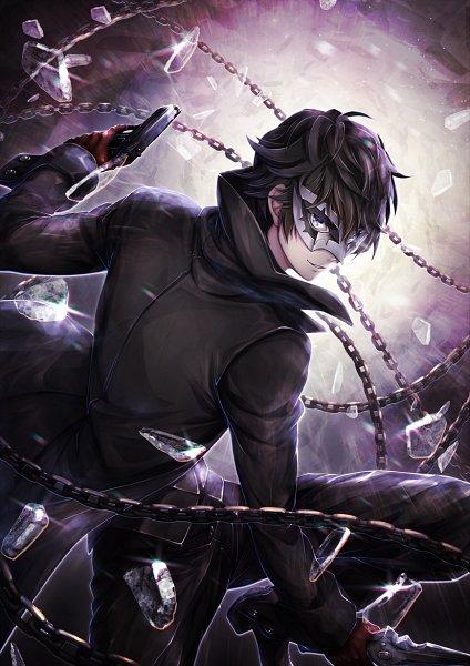 Tags: Anime, Buddha (Pixiv2096681), Shin Megami Tensei: PERSONA 5, Amamiya Ren (Persona 5), Joker (Persona 5), Pixiv, Fanart, Fanart From Pixiv