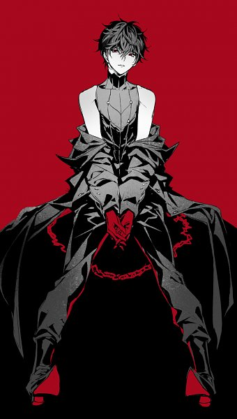 Tags: Anime, Pixiv Id 35705276, Shin Megami Tensei: PERSONA 5, Amamiya Ren (Persona 5), Joker (Persona 5), Fanart From Pixiv, Pixiv, Fanart