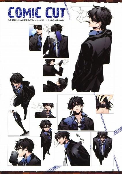 Tags: Anime, Sarachi Yomi, La storia della Arcana Famiglia, Jolly (Arcana Famiglia), Official Art, Mobile Wallpaper, Scan