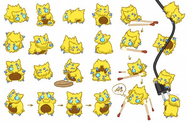 Tags: Anime, Cartoonjunkie, Pokémon, Joltik, deviantART