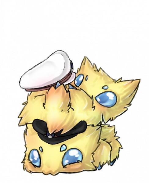 Tags: Anime, Pokémon, Nobori, Kudari, Joltik, deviantART