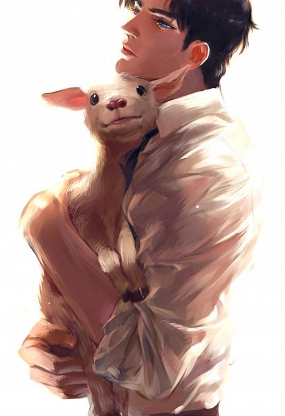 Tags: Anime, Pixiv Id 3311012, JoJo no Kimyou na Bouken, Phantom Blood, Jonathan Joestar, Goat, Pixiv, Fanart From Pixiv, Fanart, Mobile Wallpaper