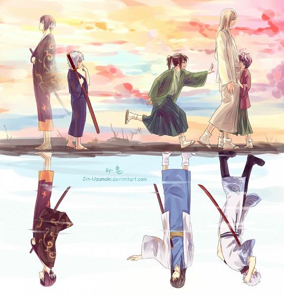 Tags: Anime, Gin-Uzumaki, Gintama, Yoshida Shouyou, Katsura Kotaro, Takasugi Shinsuke, Sakata Gintoki, deviantART, Joui