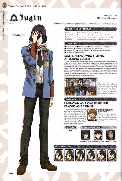 Tags: Anime, Mori Mitsue, Sega, Valkyria Chronicles 2 World Artworks, Valkyria Chronicles 2, Jugin (Valkyria Chronicles), Scan, Official Art