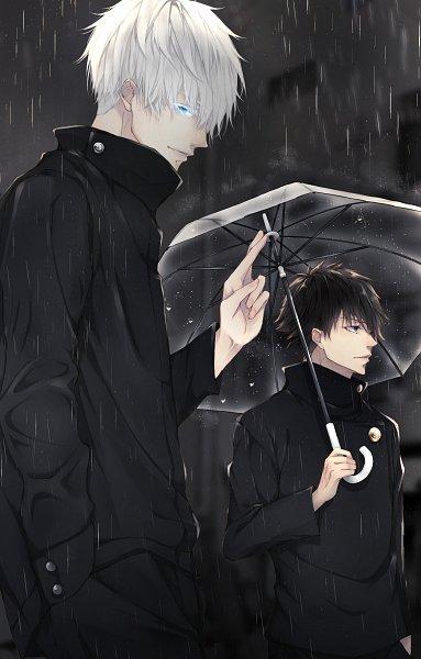 Tags: Anime, Pixiv Id 39757732, Jujutsu Kaisen, Satoru Gojou, Fushigura Megumi