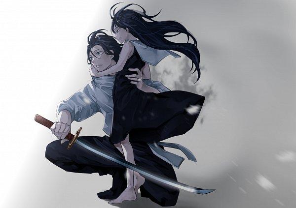 Tags: Anime, Pixiv Id 6703987, Jujutsu Kaisen, Okkotsu Yuuta (Jujutsu Kaisen), Orimoto Rika (Jujutsu Kaisen), Pixiv, Fanart, Fanart From Pixiv
