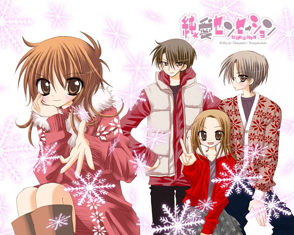 Tags: Anime, Obayashi Miyuki, Jun-ai Sensation, Wallpaper, Official Art, Official Wallpaper, Pure Love Sensation