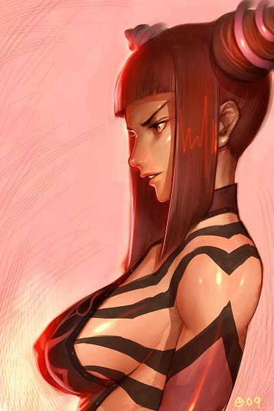 Tags: Anime, Alien1452, Street Fighter, Juri Han, Mobile Wallpaper