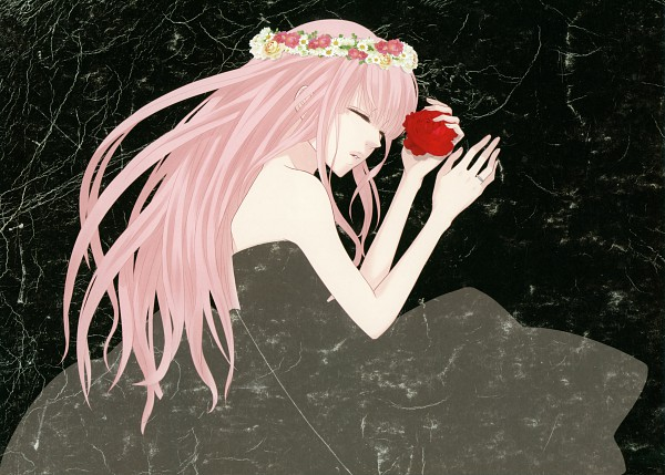 Tags: Anime, Yunomi, Just Be Friends -Illustrations-, VOCALOID, Megurine Luka, Just Be Friends, Fanart