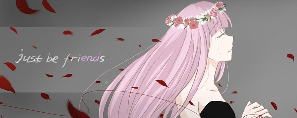 Tags: Anime, Kuroha Ai, VOCALOID, Megurine Luka, deviantART, Just Be Friends