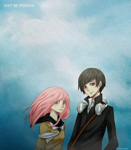 Tags: Anime, VOCALOID, Megurine Luka, Just Be Friends, deviantART