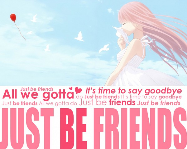 Tags: Anime, Yunomi, VOCALOID, Megurine Luka, Lyrics, Paper Airplane, Just Be Friends