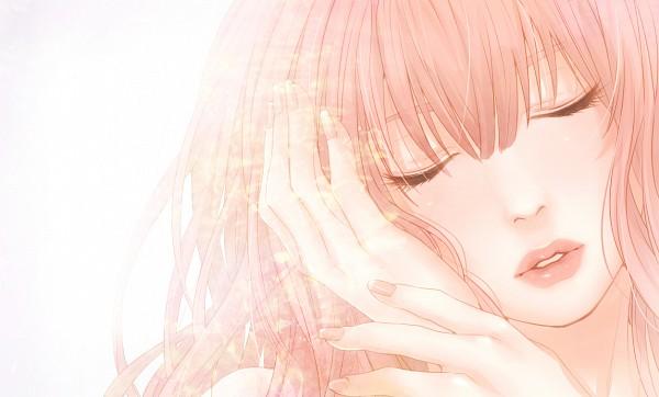 Tags: Anime, Masami Chie, VOCALOID, Megurine Luka, Pixiv, Fanart, Just Be Friends