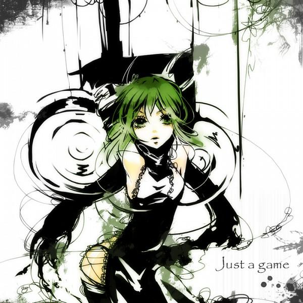 Tags: Anime, Yu-kichi, VOCALOID, GUMI, Fanart, Just a game, Pixiv