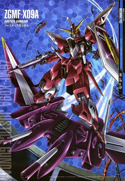Justice Gundam - Mobile Suit Gundam SEED