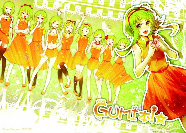 Tags: Anime, Baronet, VOCALOID, GUMI, Juu Mensou, Pixiv