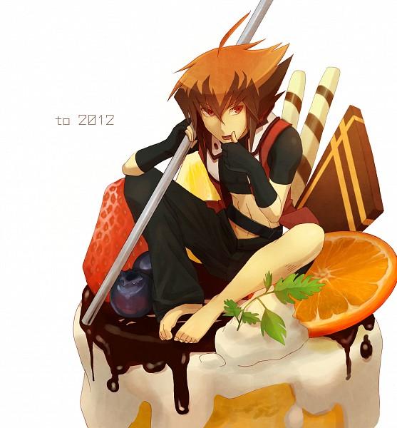 Tags: Anime, Egawa Akira, Yu-Gi-Oh! GX, Yu-Gi-Oh!, Juudai Yuuki, Fanart, Pixiv, Jaden Yuki