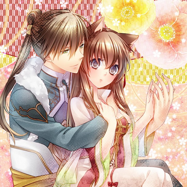 Tags: Anime, Yamika, IDEA FACTORY, Juuzaengi ~Engetsu Sangokuden~, Kan'u (Juuzaengi), Chou'un (Juuzaengi), Garders, Pixiv