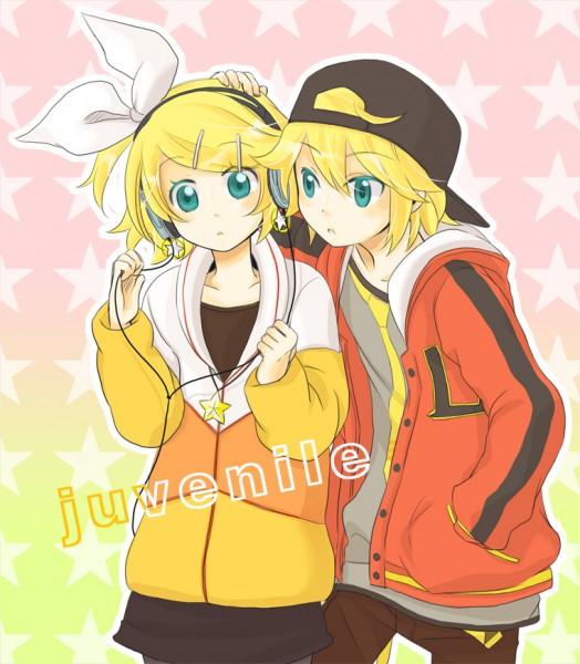 Tags: Anime, Rencon, VOCALOID, Kagamine Len, Kagamine Rin, Juvenile, Kagamine Mirrors