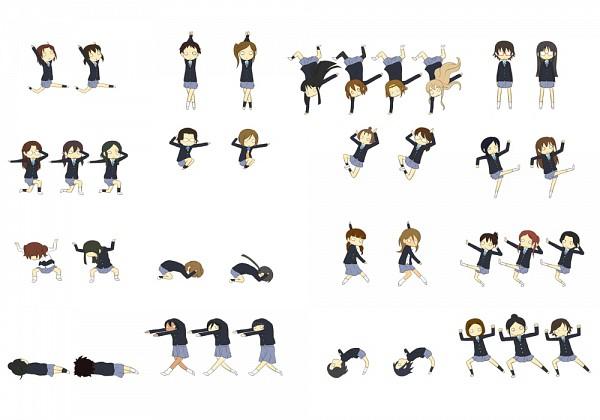 Tags: Anime, Shian (My Lonly Life.), K-ON!, Yada Masumi, Manabe Nodoka, Shimizu Kyouko, Nakanishi Toshimi, Kikuchi Tae, Iida Keiko, Sasaki Youko, Matsumoto Mifuyu, Sunahara Yoshimi, Tainaka Ritsu