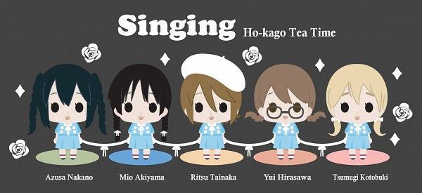 Tags: Anime, K-ON!, Akiyama Mio, Hirasawa Yui, Nakano Azusa, Tainaka Ritsu, Kotobuki Tsumugi, Singing! (K-ON!), Artist Request, Facebook Cover
