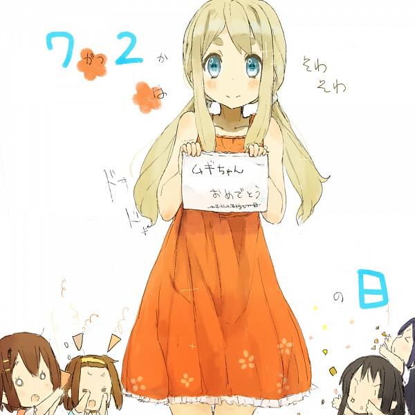 Tags: Anime, Nasuna, K-ON!, Kotobuki Tsumugi, Akiyama Mio, Hirasawa Yui, Nakano Azusa, Tainaka Ritsu