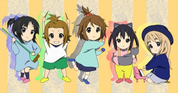 Tags: Anime, Pixiv Id 712382, K-ON!, Hirasawa Yui, Tainaka Ritsu, Kotobuki Tsumugi, Akiyama Mio, Nakano Azusa, Pixiv, Facebook Cover