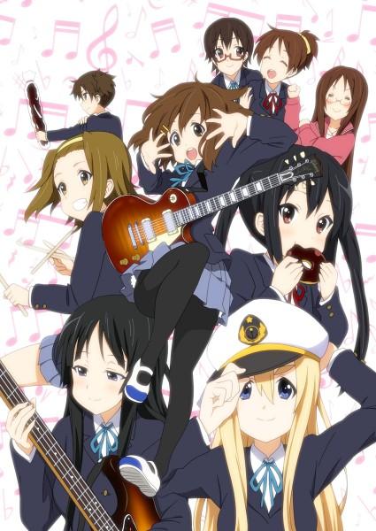 Tags: Anime, Eunos, K-ON!, Tainaka Ritsu, Kotobuki Tsumugi, Suzuki Jun, Yamanaka Sawako, Akiyama Mio, Manabe Nodoka, Hirasawa Yui, Hirasawa Ui, Nakano Azusa, Bass Guitar