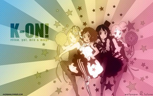 "Tags: Anime, K-ON!, Tainaka Ritsu, Kotobuki Tsumugi, Akiyama Mio, Hirasawa Yui, Don't Say ""Lazy"", Wallpaper, Fanmade Wallpaper, Edited"