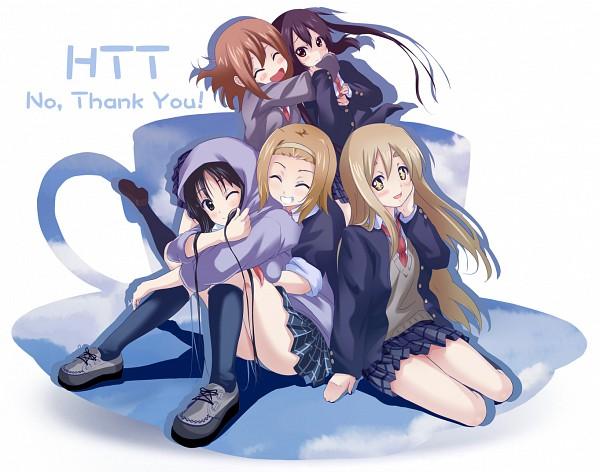 Tags: Anime, Nisson, K-ON!, Kotobuki Tsumugi, Akiyama Mio, Nakano Azusa, Hirasawa Yui, Tainaka Ritsu, No Thank You, Pixiv