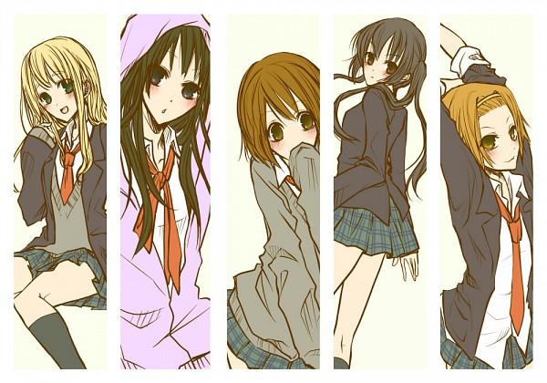 Tags: Anime, Pixiv Id 951893, K-ON!, Kotobuki Tsumugi, Akiyama Mio, Hirasawa Yui, Nakano Azusa, Tainaka Ritsu, No Thank You