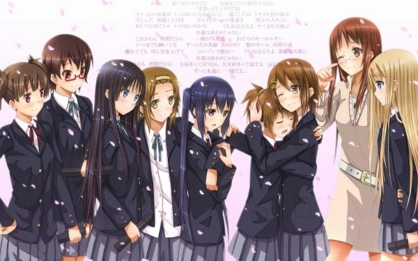 Tags: Anime, Swordsouls, K-ON!, Manabe Nodoka, Hirasawa Yui, Suzuki Jun, Hirasawa Ui, Tainaka Ritsu, Nakano Azusa, Kotobuki Tsumugi, Yamanaka Sawako, Akiyama Mio, Graduation