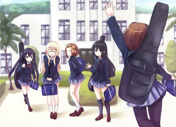 Tags: Anime, Hinata Sora, K-ON!, Kotobuki Tsumugi, Akiyama Mio, Hirasawa Yui, Nakano Azusa, Tainaka Ritsu