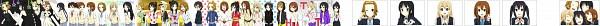 Tags: Anime, K-ON!, Tainaka Ritsu, Nakano Azusa, Kotobuki Tsumugi, Yamanaka Sawako, Akiyama Mio, Suzuki Jun, Manabe Nodoka, Hirasawa Yui, Hirasawa Ui, Artist Request, No Thank You