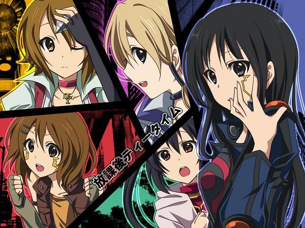 Tags: Anime, Soraeda, K-ON!, Yu-Gi-Oh!, Yu-Gi-Oh! 5D's, Kotobuki Tsumugi, Akiyama Mio, Nakano Azusa, Hirasawa Yui, Tainaka Ritsu, Wallpaper