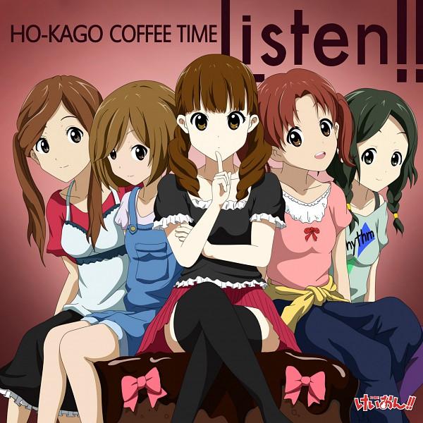 Tags: Anime, Kouchou, K-ON!, Sasaki Youko, Nojima Chika, Wakaouji Ichigo, Kinoshita Shizuka, Okada Haruna, Pixiv, Listen!!