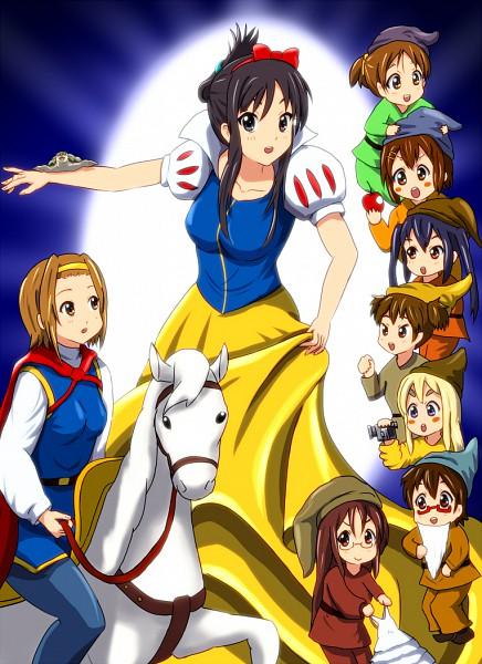 Tags: Anime, Diesel-Turbo, K-ON!, Kotobuki Tsumugi, Yamanaka Sawako, Akiyama Mio, Suzuki Jun, Manabe Nodoka, Hirasawa Yui, Hirasawa Ui, Nakano Azusa, Tainaka Ritsu, Dwarf